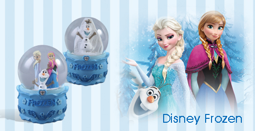 Disney Frozen items displayed on Shunmei Group website
