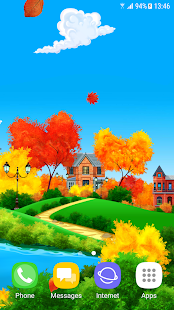 Sunny Autumn Day Live Wallpaper - náhled