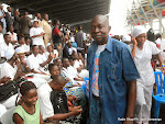 Des infirmiers congolais à Kinshasa, le 12/05/2015 lors de la célébration de la journée de l'infirmier. Radio Okapi/Ph. John Bompengo