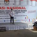 KPU Indramayu Gelar Simulasi Pungutan & Penghitungan Suara