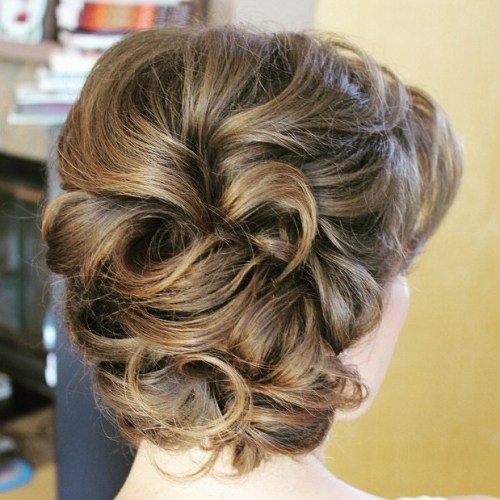 The trendy Wedding Hairstyles For And include hair color 2017 12