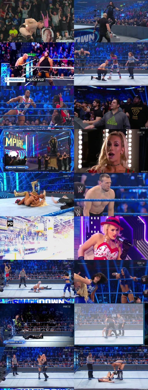 Screen Shot Of WWE SmackDown Live 27th December 2019 HDTV 480P 300MB