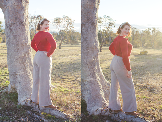 Simplicity 3688 trousers | Lavender & Twill