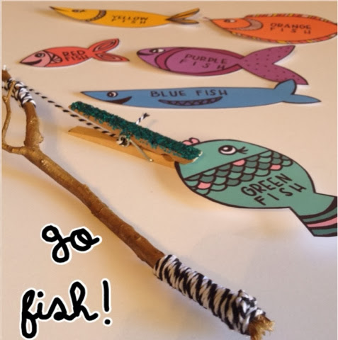 Bow Arrow Free Printable Go Fish Game For Toddlers
