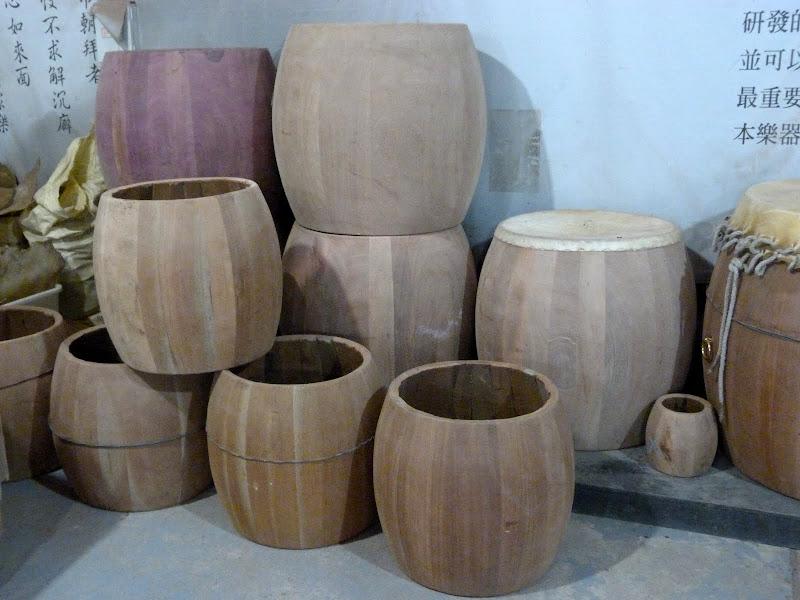 Diverses essences de bois pour de différentes sonorités