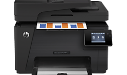 The best way to down HP Pro MFP M177fw printing device installer program