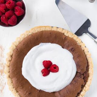 Raspberry Chocolate Pie.