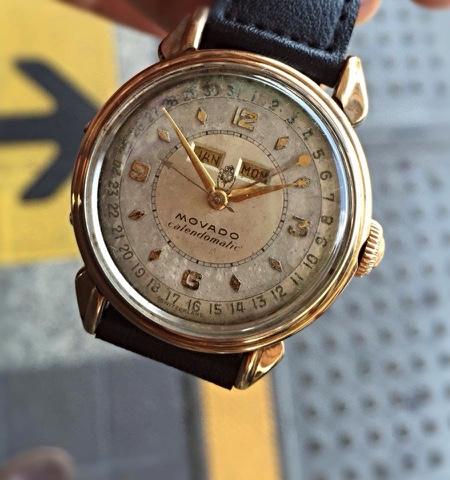 Vintage Watch Experience Movado Calendomatic