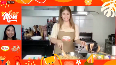 Mommy Connh, Cooking with Mega Prime