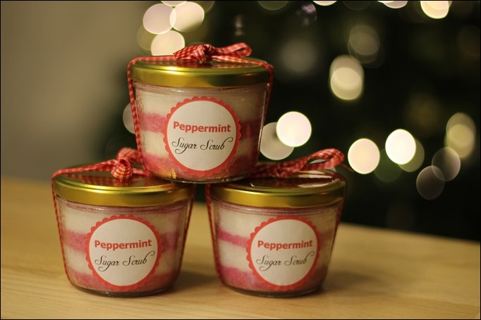 DIY Sugar Scrub Weihnachten Geschenk selbstgemacht 01