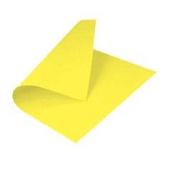 cartulina amarilla
