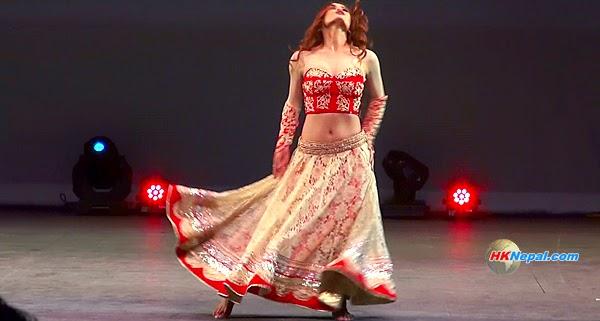 MALA SUBBA | HOT DANCE | Udhreko Choli | INFA AWRADS