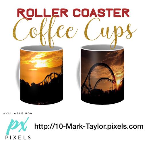 roller coaster Coffee Mugs cups