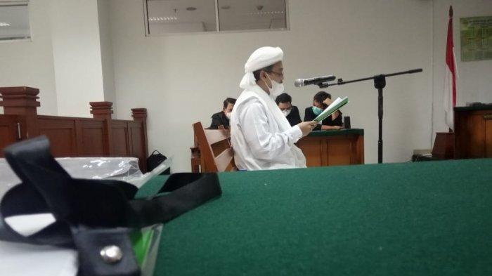 Habib Rizieq Soal Kasusnya: Tujuan Jahat untuk Habisi Saya dan Kawan-kawan