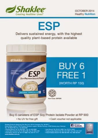 promo ESP buy 6 free 1