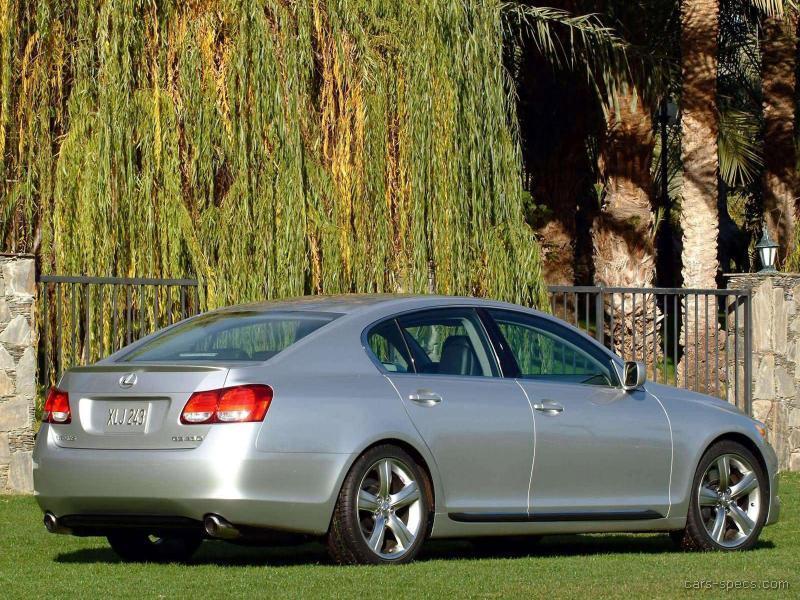 2008 lexus gs 350 sedan specifications pictures prices. Black Bedroom Furniture Sets. Home Design Ideas
