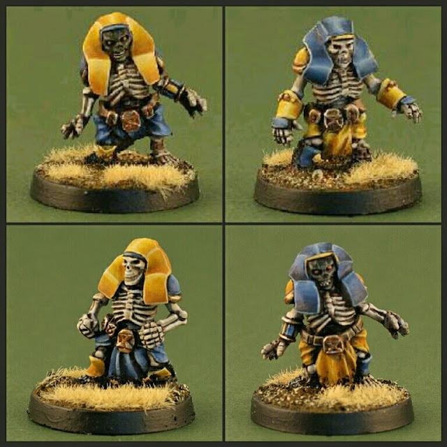 esqueletos Enanos Khemri Neomics