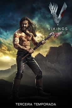 Baixar Série Vikings 3ª Temporada Torrent Grátis