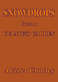 Cover of Aleister Crowley's Book Snowdrops From a Curate Garden