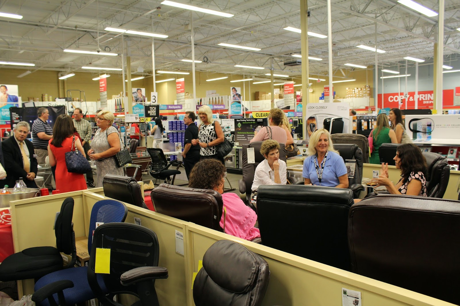 July Chamber XChange at Office Depot
