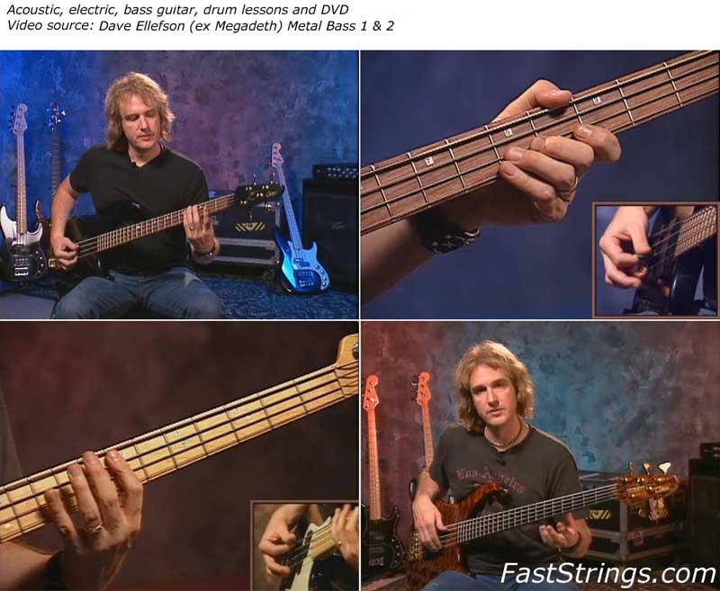 Dave Ellefson (ex Megadeth) Metal Bass 1 & 2