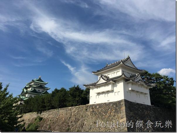 名古屋城的雄偉雙城