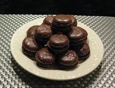 recette des macaron tout chocolat