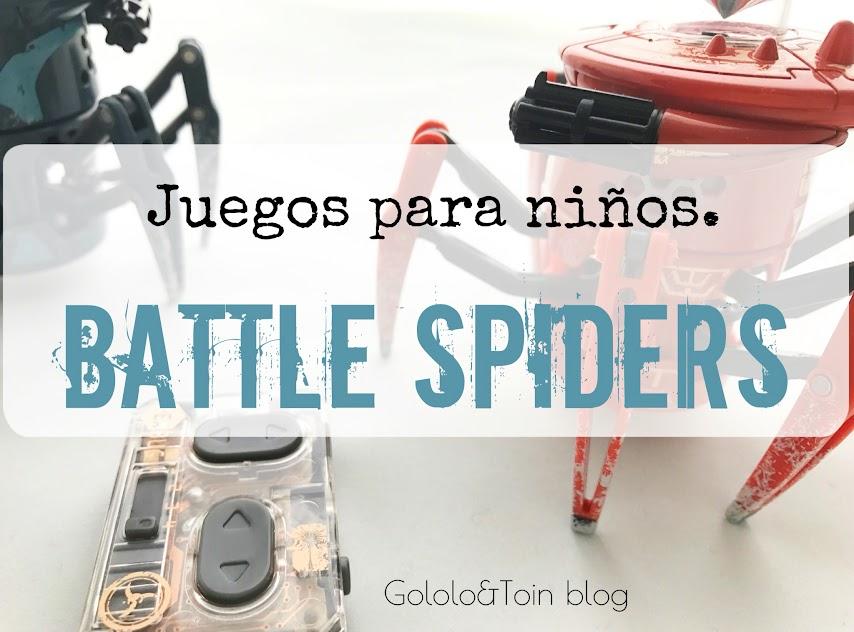 Battle Spiders de Juguetrónica