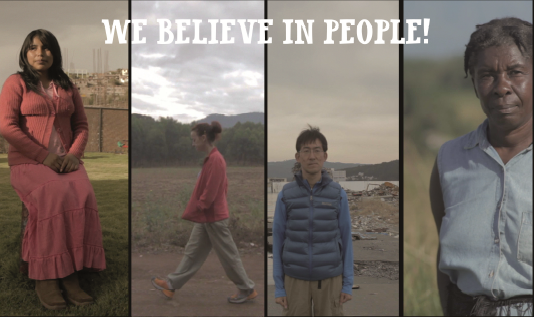 We Believe in People Campaign by El Naturalista
