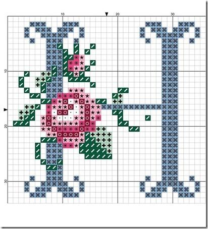 abc punto cruz letras con rosas  (7)