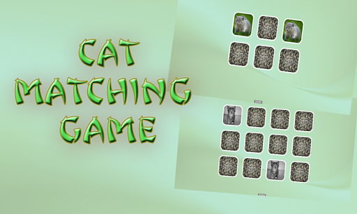 Cat Matching Game