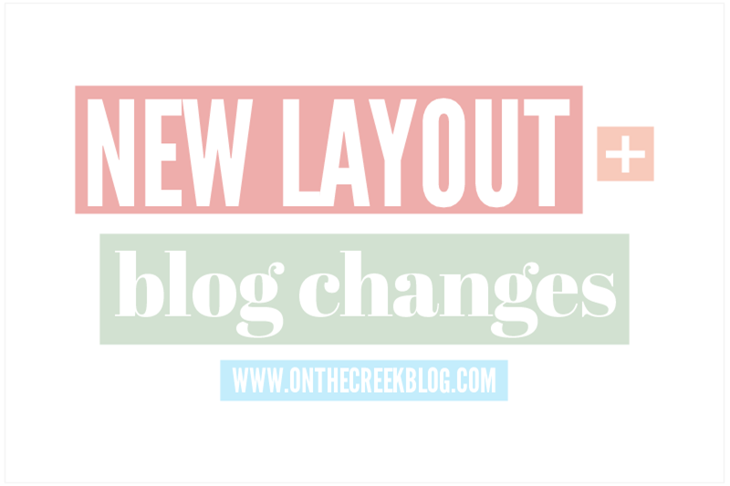 New Layout + Blog Changes