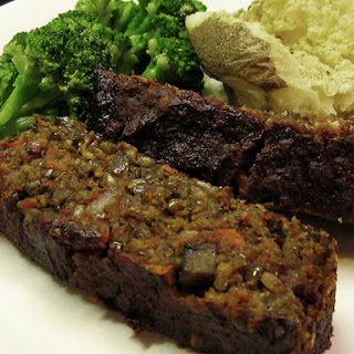 NOT your hippy aunt's vegan meatloaf ;-P
