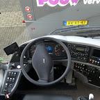 Het dashboard van De VDL futura classic van Pouw vervoer bus 34