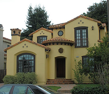 Chic souffl el estilo colonial espa ol en ee uu for Spanish colonial exterior paint colors