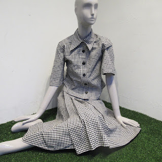 Scanlan Theodore NEW Gingham Skirt Suit
