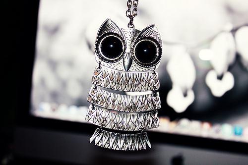 owl necklace dare 2 wear
