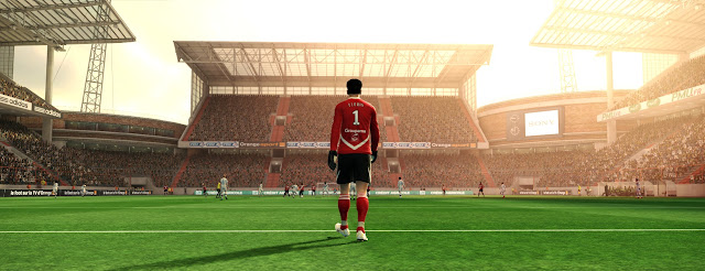 Novos Adboards dos estádios - PES 2012