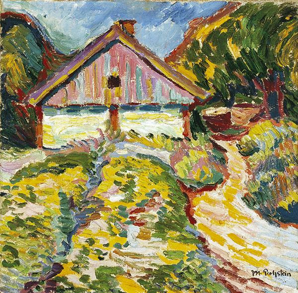 Max Pechstein - House on the Kuhrische Nehrung