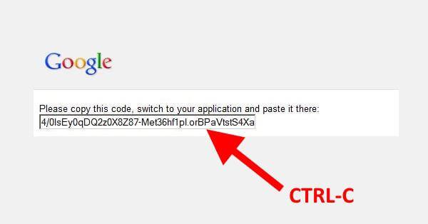 Google Analyticator Authorization Code