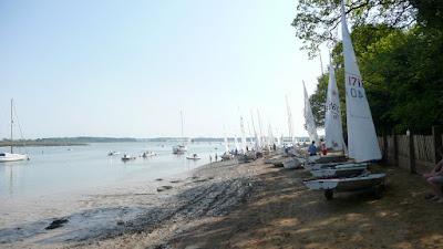 The Deben estuary - Waldringfield