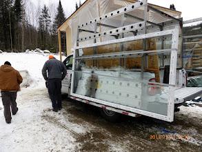 Photo: The li'l 5x10 kitchen window arrives ...