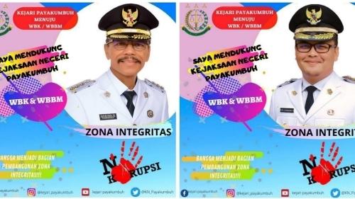 Pemkab Limapuluh Kota Dukung WBK/WBBM Kejari