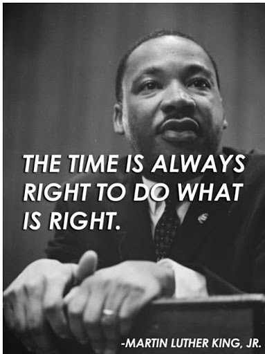 Martin Luther King Quotes about leadership