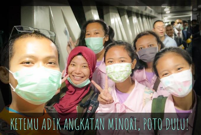 """[DAY 1] Japan Winter Trip 2020 """"Take Off dari Bandara Soekarno Hatta Bertemu pemagang dari Minori"""""""
