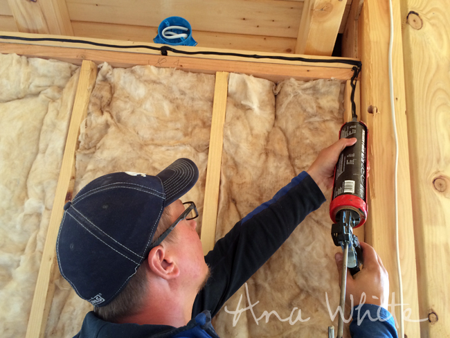 Wall Insulating And Vapor Barrier For Alaska Lake Cabin Ana White Woodworking Projects