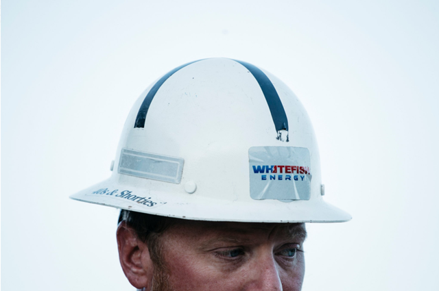 Chris Gorman, a general foreman from Whitefish, in Manatí, P.R., where the company has been working on a transmission line. Questions about the Whitefish contract have led to its cancellation. Photo: Erika P. Rodriguez / The New York Times