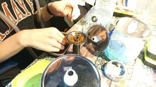 DSC 4892 thumb3 - 【シーシャ/イベント】シーシャやるならここに行け!?「シーシャBAR 煙-en-」愛知県岡崎市でシーシャグラスのワークショップを体験してきた!&吸ってみたレポート【秘密基地/体験イベント/水タバコ】