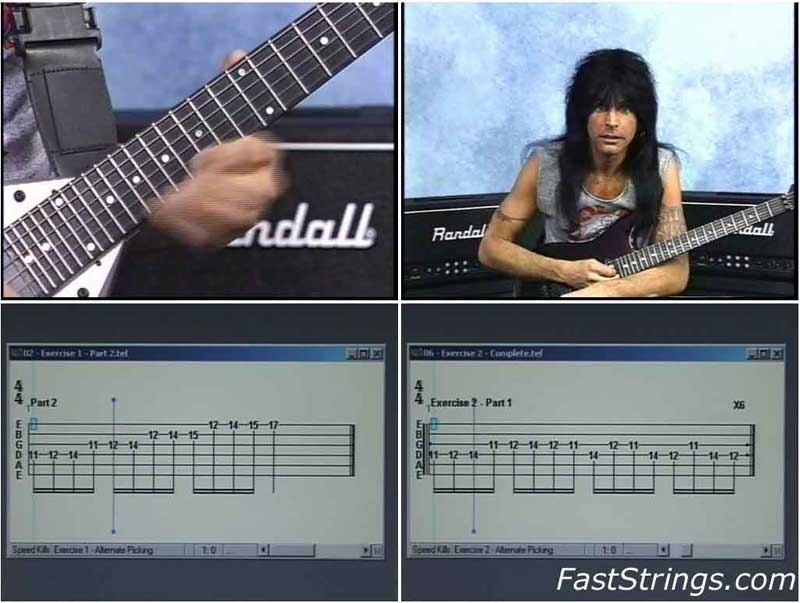 Michael Angelo Batio - Speed Kills (3 Volume Package)