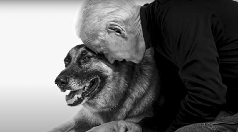Major, será el primer perro rescatado que vivirá en la Casa Blanca